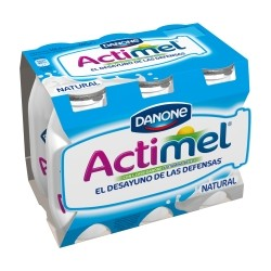 Actimel Natural (pack x6). Danone.