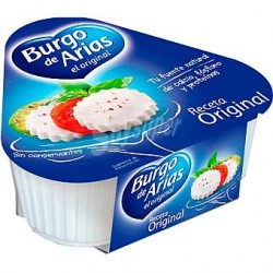Queso fresco Burgo de Arias. Pack x3.