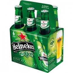 Heineken (botellines 25cl pack 6u).
